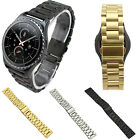 Stainless Steel Watch Band 3 Bead Chain Strap For Samsung S2 Classic SM-R732