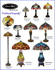 Handcraft Traditional Dragonfly Leadlight Stained Glass Tiffany Lamp(10 types)