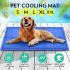 Pet Cooling Bed Gel Mat Dog Cat Non-Toxic Cool Pad Puppy Cold Summer