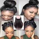 360 Lace Band Frontal Closure Virgin Human Hair Pre Plucked With Baby Hair HQ284