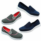 Womens Alive Extra Comfort Go Walk Memory Foam Slip On Casual Shoes Trainers