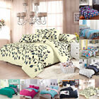 Single Twin Double Queen King Duvet Cover Pillow Case Quilt Cover Bedding Set