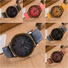 Fashion Women Men Casual Watch Leather Band Cowboy Analog Quartz Wrist Watches image