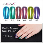Mirror Nail Polish Effect Metal Multi-color Paint Topcoat Metal Nail Art Polish