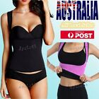 New Neoprene Black Pink Reversible Hot Body Shaper Loss Weight Slimming WorkOut