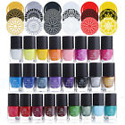 6ml BORN PRETTY Nail Art Stamping Polish Manicure Stamp Plate Printing Varnish