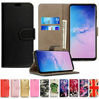 FOR SAMSUNG GALAXY S7 S8 LEATHER WALLET BOOK FLIP PROTECT CASE STAND PHONE COVER