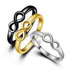 "Women's Fashion Ring Infinity ""8"" Lucky Rings Jewelry Banquet Party"