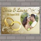 Personalised Congratulations Wedding Engagement PHOTO Poster Print Banner N149
