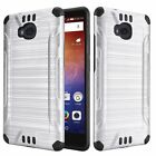 Brushed Hybrid PC TPU Case Cover For Huawei Ascend XT H1611 Phone