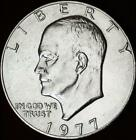 1977-(P) BU Eisenhower Dollar - ALL WHITE - Best Value From CherrypickerCoins