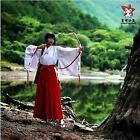 Anime japonais,inuYasha, Kikyo Cosplay , Miko vêtements , Ensemble de vêtements