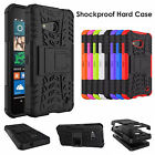 Hybrid Heavy Duty ShockProof Kick Stand Case Cover For Microsoft & LG Phones