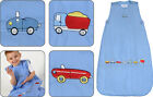 Blue Beep Beep Cars Baby Sleeping Bag - The Dream Bag 0M-6Y 0.5, 1, 2.5, 3.5 Tog