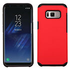 For Samsung Galaxy S8 / S8 PLUS HARD Astronoot Hybrid Rubber Case Phone Cover