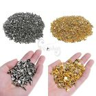Set of 100 7 x 10MM Spots Cone Screw Metal Studs Rivet Punk Spike Screwbacks New