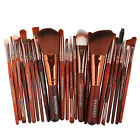 22PCS Kabuki Make up Brushes Set Makeup Foundation Blusher Face Powder Brush NEW