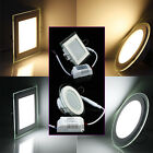 Dimmable 9W 15W 18W 5730SMD LED Recessed Ceiling Panel Down Lights Lamp 85V-265V