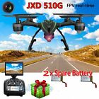 JXD 509G 510G RC Quadcopter 2.4G 4CH 6Axis Gyro 5.8G FPV DRONE 2.0MP Cam Battery