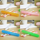 Внешний вид - Convenient Portable Toothbrush Box Travel Case Teeth Brush Protection