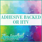 Watercolor Pattern #4 Adhesive Craft Vinyl or HTV for Craft, Shirts and More!