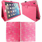 For New Apple iPad 9.7 (2017) Luxury Leather Folio Smart Stand Flip Case Cover