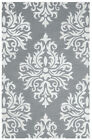 Rizzy Rugs Gray Contemporary Ornamental Medallions Area Rug Geometric EH133A
