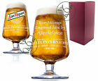 Personalised Engraved 1 Pint San Miguel Lager Chalice Glass Wedding Gift