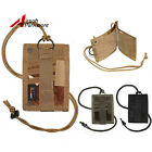 Tactical ID Badge Business Credit Card Holder Necklace Neck Strap Lanyard