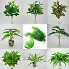 Artificial Leaves Plant Silk Flower Fake Foliage Plants Home Wedding Home Decor