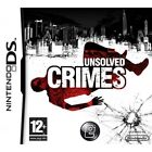 Unsolved Crimes Game DS Brand New