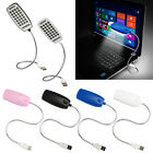 Bright 28 LED USB Mini Light Flexible Computer Lamp Laptop PC Desk Reading NEW