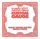 Ernie Ball Nickel Wound Custom Gauge Electric Guitar Strings 6-Pack for sale