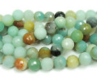 Amazonite Faceted Gemstone Beads~Guaranteed