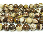 Australian Zebra Round Gemstone Beads~Guaranteed