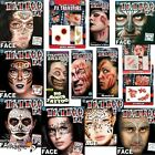 Adults Tinsley Transfers 3D Halloween Special Effects FX Make Up Horror Body Art