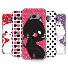 HEAD CASE DESIGNS CATS AND DOTS HARD BACK CASE FOR SAMSUNG GALAXY S8
