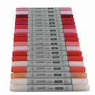 Copic Ciao Twin Tip Marker Pen Red Colours