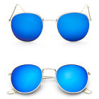 Fashion Oversized Round Sunglasses Men Women's Vintage Retro Mirror Glasses HOT