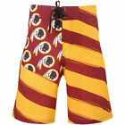 Redskins board - Washington Redskins Forever Collectibles 17 Mens Diagonal Boardshort Boar