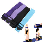 ADJUSTABLE YOGA STRETCH STRAP BELT GYM EXERCISE WAIST TRAINING FITNESS PILATES