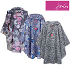 Joules Ladies Showerproof Printed Poncho (W) **FREE UK Shipping**