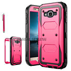 Heavy Duty Shockproof Hybrid Hard Tuff Protective Rubber Phone Case Cover Skin