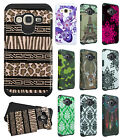 For Samsung Galaxy Sky HARD Hybrid Rubber Silicone Case Phone Cover Accessory