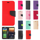 For ZTE Max XL N9560 Premium Leather 2 Tone Wallet Case Pouch Flip Phone Cover