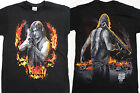 The Walking Dead Tv Show Daryl Dixon with Bazooka Front and Back TWD T-Shirt image