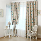 Cute Animal Paradise Pattern Shading Curtain For Children Bedroom Decor