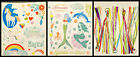 New You Choose Recollections Mermaids Or Unicorn Stickers Or Tassels Free S+H**
