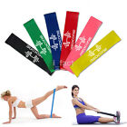 Внешний вид - 4 Colors Yoga Resistance Loop Exercise Fitness Home Gym Training Bands Tube Set