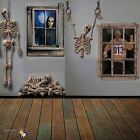 Halloween Skeleton Giant Ghastly Horror Wall Decor Party Decoration Scene Setter